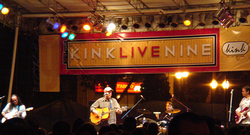 Shawn Mullins - KINK FM Live 9 - CD Release Party